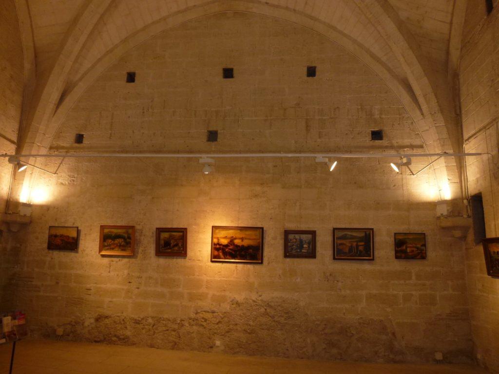 Exposition à Villeneuve lez Avignon
