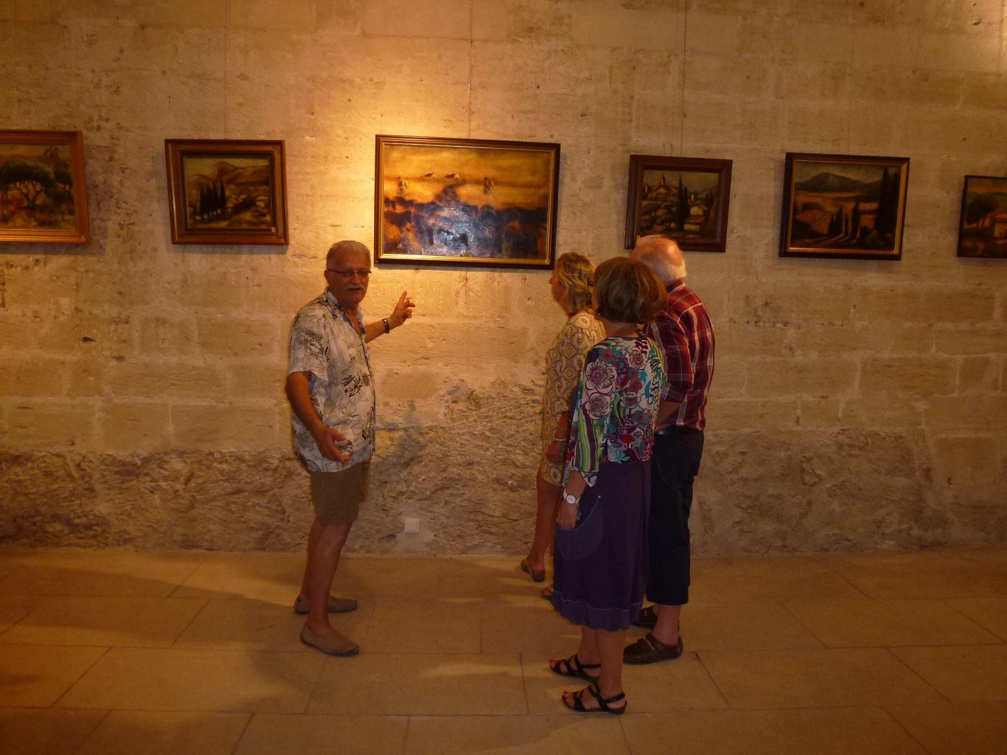 Vernissage à Villeneuve lez Avignon