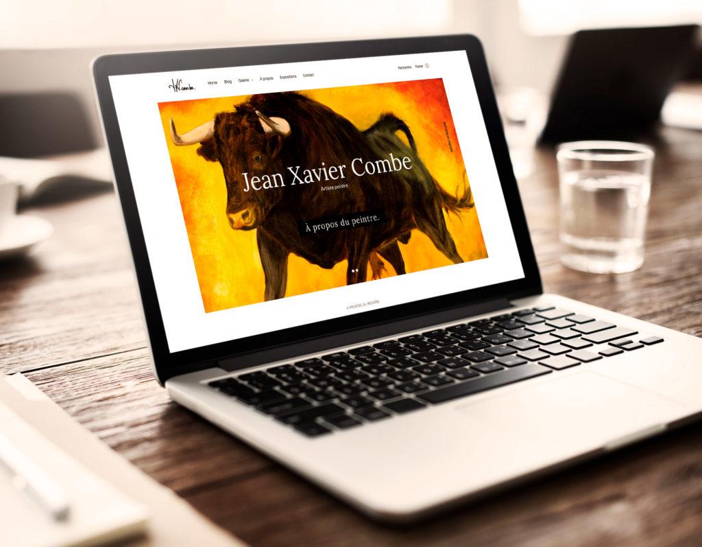Nouveau site du peintre Jean Xavier Combe